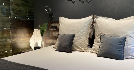 The 'chambre du milieu' bedroom